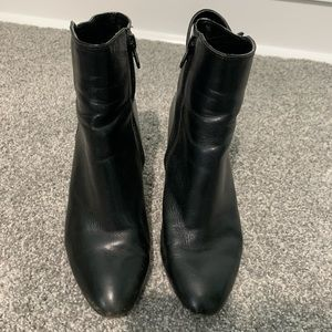 Leather ankle boots size 7.5